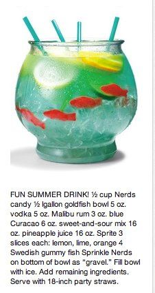 fun summer drink! @Michelle Flynn Marek Do you remember our terrible night on Northgate where this ended our night.