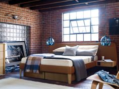 A cozy nook created by you, just for you.  Parallel Bedroom Collection | A DWR Exclusive