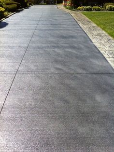 Integral Color Broomed Concrete - Google Search