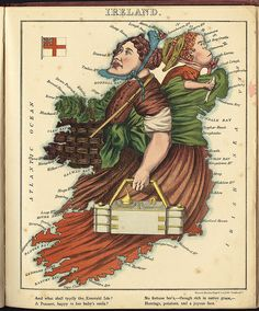 Ireland by Norman B. Leventhal Map Center at the BPL, via Flickr