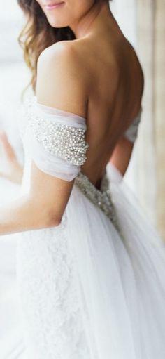 Gorgeous Bridal Detail