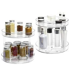 Fridge Organization, Pantry Storage, Kitchen Storage, Cabinet Spice Rack, Rack Shelf, Rotating Spice Rack, Affordable Storage, Kitchen Corner, Kitchen Dining