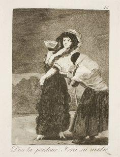 Francisco de Goya en El Prado: Dios la perdone: Y era su madre