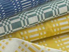Normandie fabrics in the store