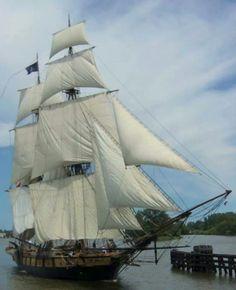 Tall ships parade of sails Bay City Mi.