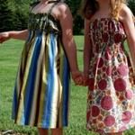 Free pattern: Leisurely shirred sundress for girls