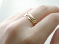 thin stacking rings by illusy