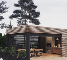 13 # you & # ll - Außenbereich Modern Gazebo, Gazebo Roof, Outdoor Gazebos, Painting Concrete, Fire Table, Outdoor Living, Outdoor Decor, Outdoor Projects, Outdoor Kitchen Design