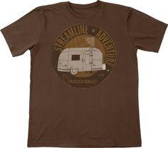 Trailer 100% Organic Cotton Short Sleeve Men's Tee Shirt for the traveling man in your life! | green 3 | #OrganicCotton #OrganicMan #USAMade