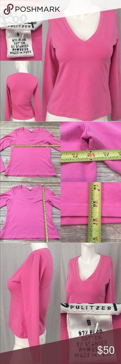 🎍Sz Small Lilly Pulitzer V-neck Long Sleeve Top Measurements are in photos. Normal wash wear, no flaws. D1  I do not comment to my buyers after purchases, due to their privacy. If you would like any reassurance after your purchase that I did receive your order, please feel free to comment on the listing and I will promptly respond.   I ship everyday and I always package safely. Thank you for shopping my closet! Lilly Pulitzer Tops