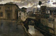 Antonio Muñoz Degrain - Memories of Granada [1881]