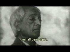 Revolution des Bewusstseins, Jetzt! - Jiddu Krishnamurti