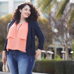 Plus blogger, @girlwithcurves has chosen her #maurices faves from our #Spring2015 collection!