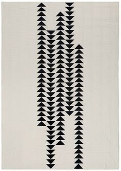 Season Evans; 'Migration, Flying Geese Variation' Quilt, 2015.