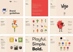 Brand New: New Name, Logo, and Identity for Vojo by Johnson Banks