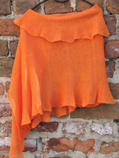 Hey, I found this really awesome Etsy listing at https://www.etsy.com/listing/98997224/linen-scarf-shawl-wrap-stole-orange