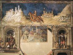 'Ecuestre retrato de Guidoriccio da Fogliano' de Simone Martini (1284-1344, Italy)
