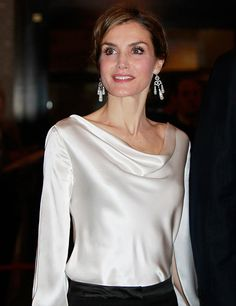 "ru_royalty: Испанские монархи на премьере опере ""El Publico"""