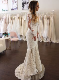 Wedding Dress Shopping at Malindy Elene in Tampa, FL (Anne Barge 'Laurel') Wedding Dress Shopping, Wedding Dresses, Anne Barge, Gowns, Lace, Future, Fashion, Bride Dresses, Vestidos