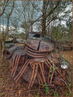 """Snaggletooth"" This old wreck seems to have died with a smile on its face. Abandoned Property, Abandoned Cars, Abandoned Buildings, Abandoned Places, Abandoned Vehicles, Old Pickup Trucks, Lifted Ford Trucks, Rust In Peace, Rusty Cars"