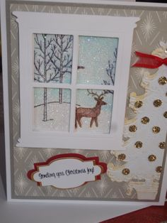 Christmas Card Handmade for Someone Special by OurCottagebytheSea