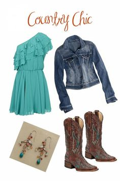 Country Chic school style outfit