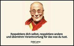 Respektiere dich selbst , ....