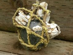 Glass Fishing Float with HUGE Barnacles, shells, Netted, Stamped number Glass Floats, Number Stamps, Nautical Home, Beautiful Beaches, Yachts, Boats, Fishing, Ships, Decor