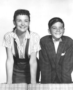 If you were born in 1958, the 2 new young stars that year debuting on TV were Shelley Fabares and Paul Peterson - they were the kid stars in the new Donna Reed Show - Mary and Jeff Stone - brother and sister.