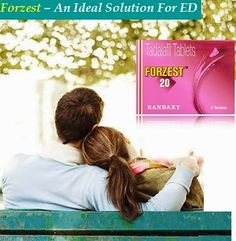 The most crucial way to solve the condition associated by lose erection can be resolved by the treatment of Forzest. It helps to get rid of erectile dysfunction by improving the force of blood force to men's main organ.