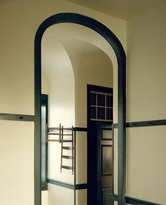 Doorway and hall at Shaker village