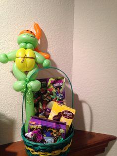 Ninja Turtle Easter Basket