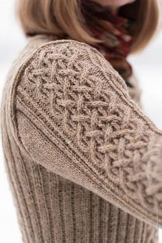 Stonethwaite by Linda Marveng knitted using The Fibre Co. Lore in Stable. Cable Knitting Patterns, Crochet Vest Pattern, Knitting Stitches, Knit Patterns, Free Knitting, Baby Knitting, Knit Crochet, Vogue Knitting, Crochet Granny