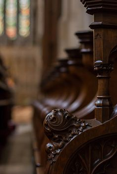 Choir stalls at Southwark Cathedral