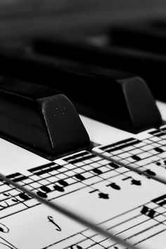 Music notes on piano keys. So pretty Sound Of Music, Kinds Of Music, Music Is Life, My Music, Music Mix, Piano Music, Sheet Music, Piano Keys, Piano Player