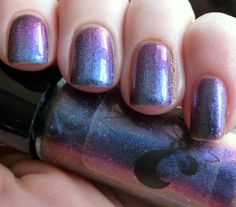 Multi Trick Pony.  Jindie Nails Holiday/Winter 2013 Collection - Part 2 - Holos and Multi-Chromes