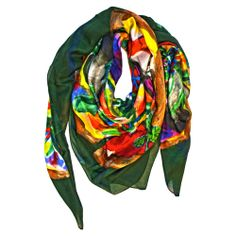 OASI is one of the newest colors of PALME PASHMINA by PITSART.Pashimina modal and cashmere 140 cm x 140 cm.Hand finishing.100% Made in Italy