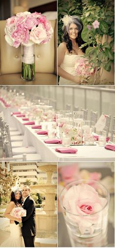 Pink + Silver Wedding Ideas