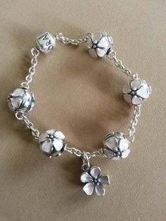 :) JUST BOUGHT A CLIP BRACELET, FOR MY FIRST SET OF CLIPS, I AM GOING TO PLACE THE DOGWOOD CLIP DANGLES ALL THE WAY AROUND FOR ALL FIVE STATIONS :)