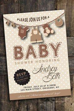 invitaciones para baby shower gratis
