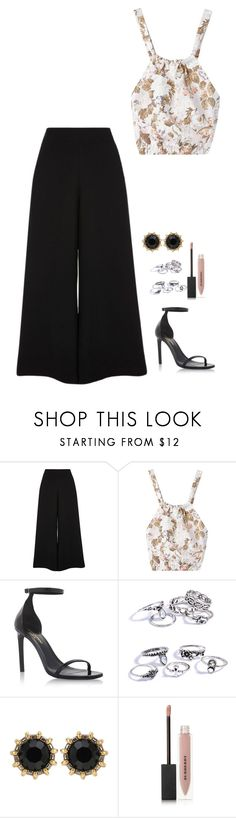 """Untitled #1116"" by h1234l on Polyvore featuring River Island, Yves Saint Laurent, Gucci and Burberry"