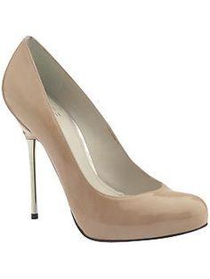 Stuart Weitzman Lance with Silver heels