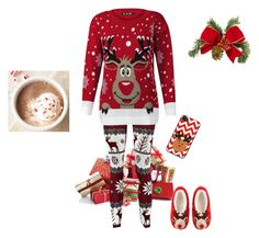 """Merry Christmas"" by nana-yaa-1 on Polyvore featuring ASOS"