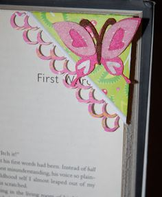 Crafty Chic's: Corner Bookmarks