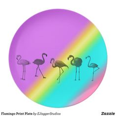 Choose from a variety of Flamingo plate designs or create your own! Shop now for custom plates & more! Browse our pre-existing designs or create your own on Zazzle today! Flamingo Gifts, Flamingo Print, Plates For Sale, Plate Design, Create Your Own, Artist, Pink, Inspiration, Plaque Design