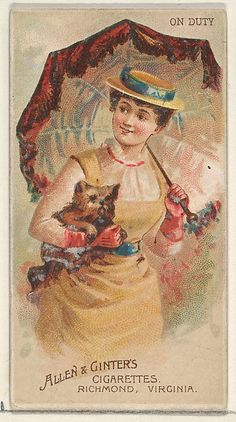 Allen & Ginter | On Duty, from the Parasol Drills series (N18) for Allen & Ginter Cigarettes Brands | The Met