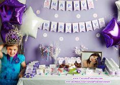 "Photo 1 of 12: Purple Princess / Birthday ""♥ Princess loves Purple ♥"" | Catch My Party"