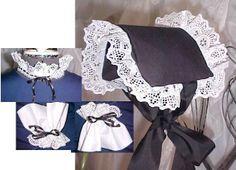 civil war ladies hats | civil war costume set
