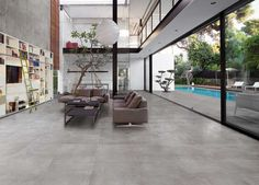 Find out all of the information about the Panaria Ceramica product: indoor tile / outdoor / wall / floor URBANATURE : PORTLAND. Concrete Look Tile, Concrete Floors, Tile Stores, Flooring Store, Room Tiles, Timber Flooring, Color Tile, Decoration, Home Goods