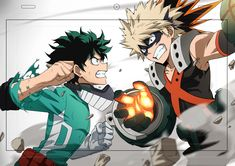 Deku and Kacchan - Boku no Hero Academia